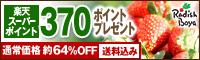 【370ポイント】豪華14品!芯まで甘い苺と季節野菜セット1,980円
