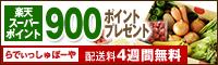 ご購入で【900ポイント】プレゼント!